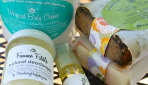 Strawberry Hedgehog Vegan Beauty Products