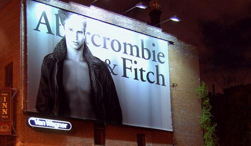 abercrombie billboard