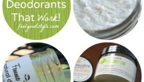 3 Vegan Deodorant Options that Work! (2 to Buy, 1 to Make)