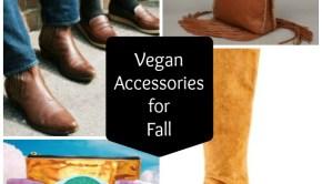 Vegan Accessories for Fall