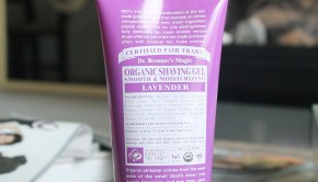 Finding good beauty products is hard- finding good organic beauty products is harder. Over the weekend I picked up some Dr. Bronner's organic shave gel, and I was pretty impressed!