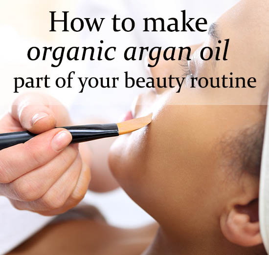 Organic Argan Oil for Face