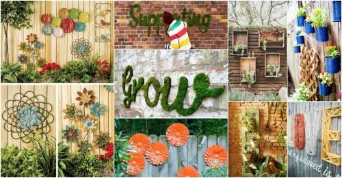Medium Of Backyard Fence Decoration Ideas