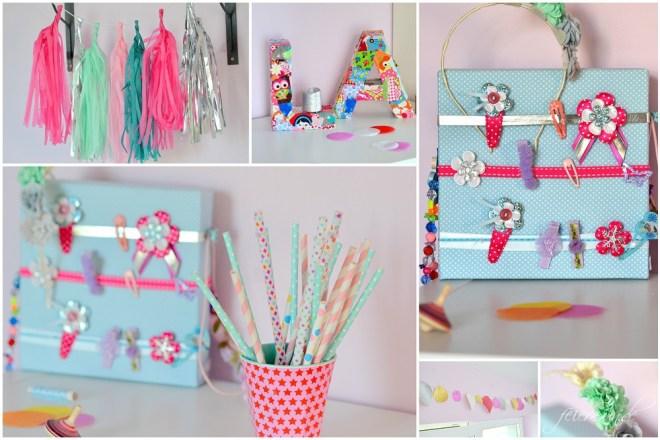 Kinderzimmergestaltung - Summer Time - froehliche Gestaltung Collage Produkte