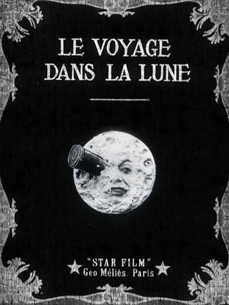 《月球之旅》科幻的月台