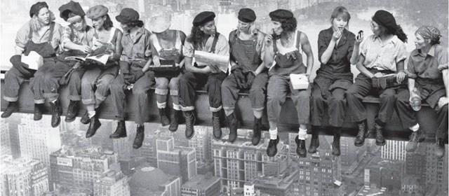 feminism, equality - construction women (UMass)