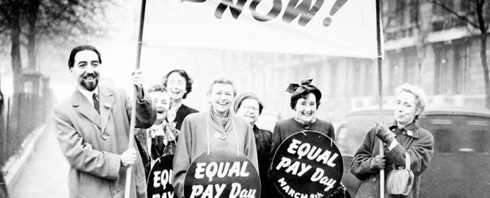 feminism, suffrage - equal pay (featured)
