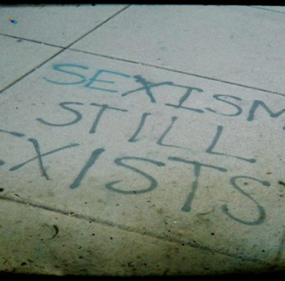 """Young men think sexism is thing of the past"" (@schemaly, @RoleReboot)"
