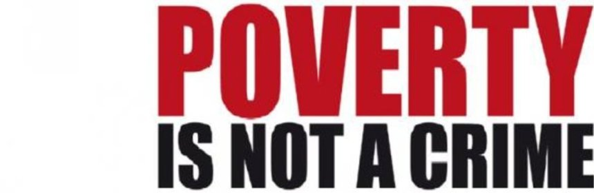 criminology - poverty is not a crime