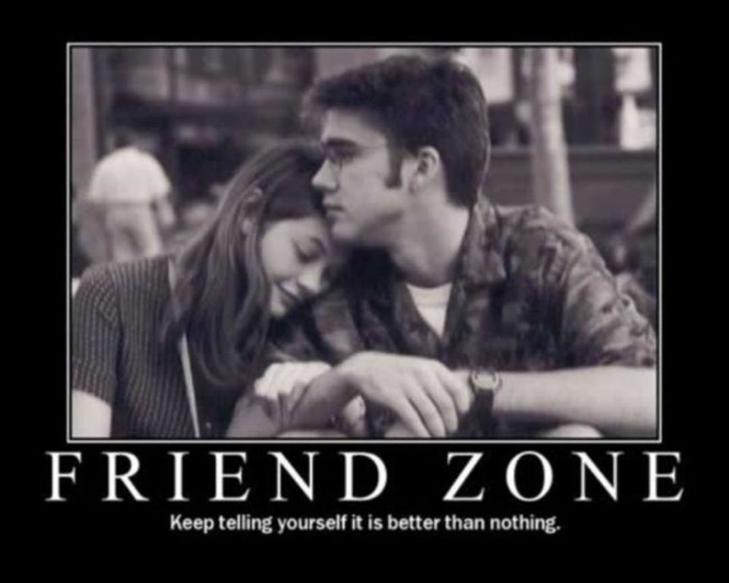 """The friendzone is """"a bullshit way for men to justify their feelings of entitlement towards women"""" -Emily"""