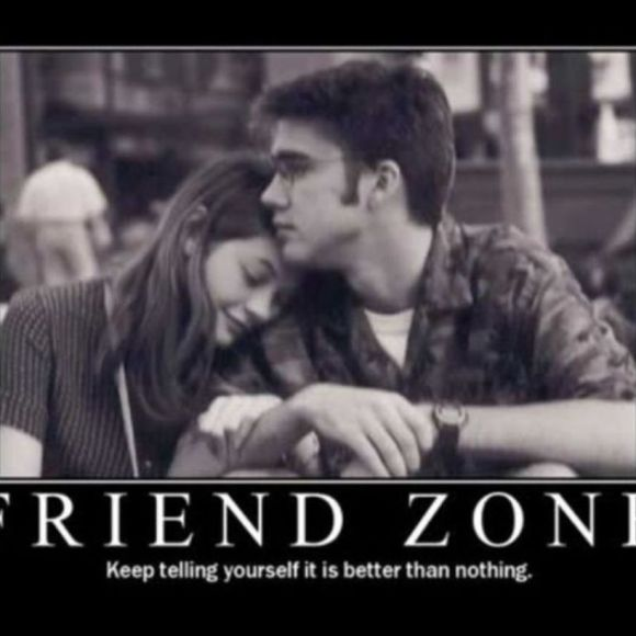 "The friendzone is ""a bullshit way for men to justify their feelings of entitlement towards women"" – Emily"