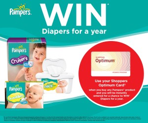 Pampers Win Diapers for a Year - SDM Promotion