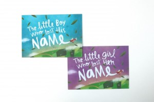 The Little Boy_Girl Who Lost His_Her Name_front cover