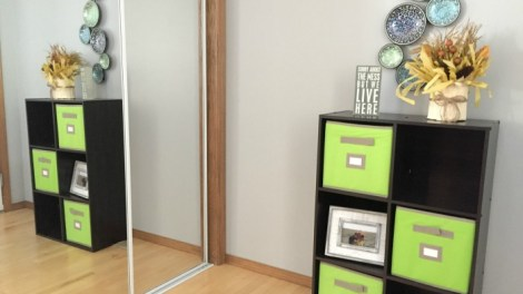 6 Cube Storage Shelf from Home Depot
