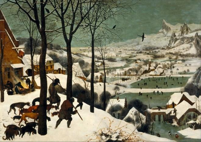 Hunters in the snow, Pieter Bruegel