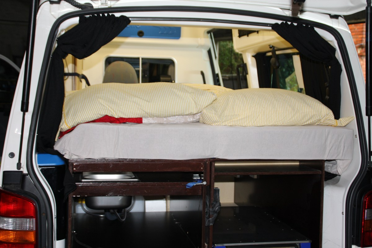 das gemachte Bett
