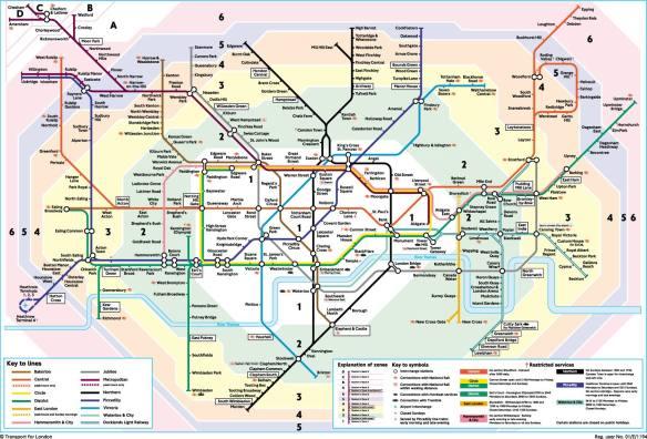 Mapa Metro Londres, Transporte Londres Aeropuertos, London Taxi ...