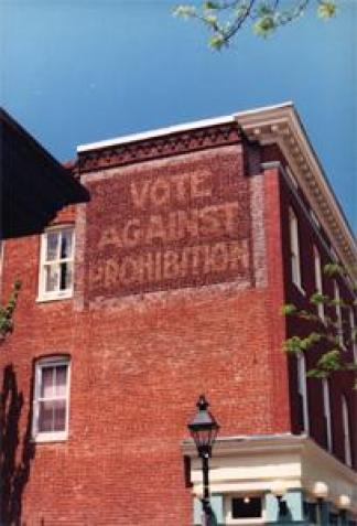 Fells Point Vote against Prohibition Mural
