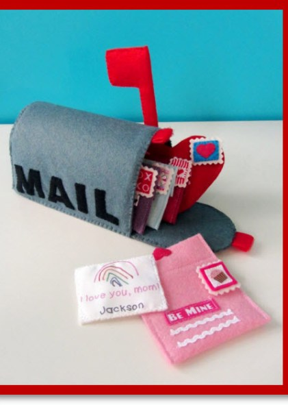 Valentine Mail box