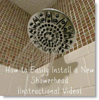 shower head Giveaway