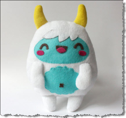 Monster Plush Softie