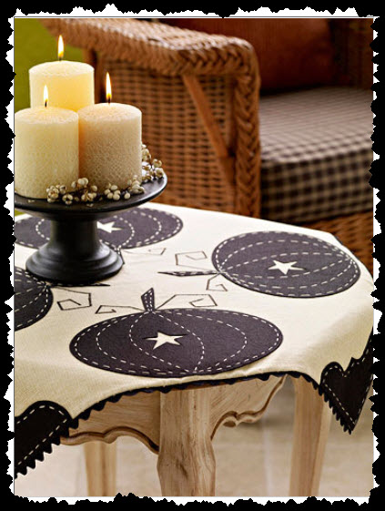 Pumpkin Tablecloth for Fall