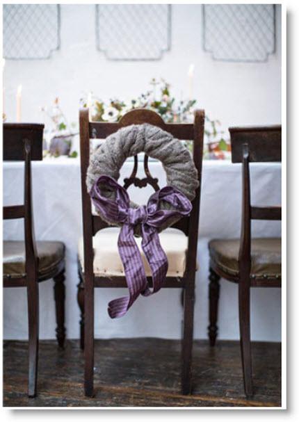 scarve wreath