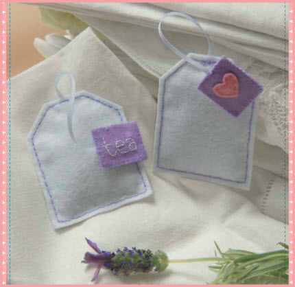 Lavender Tea Bag Sachets