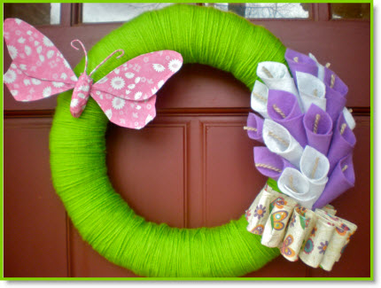 An Easter Wreath Tutorial