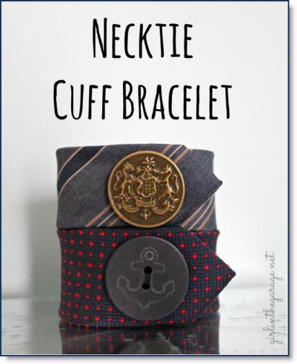Necktie cuff