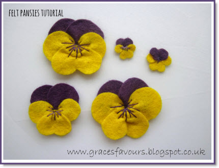 DIY Pansy Flower