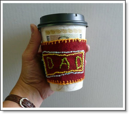Coffee Cozy for Father's Day