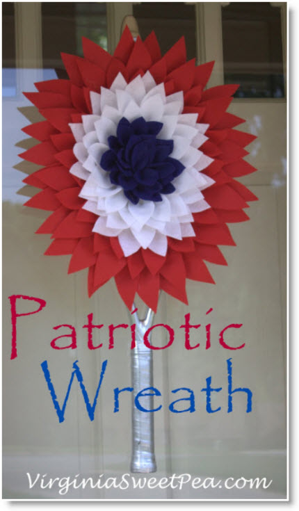 Patriotic Wreath for Memorial Day
