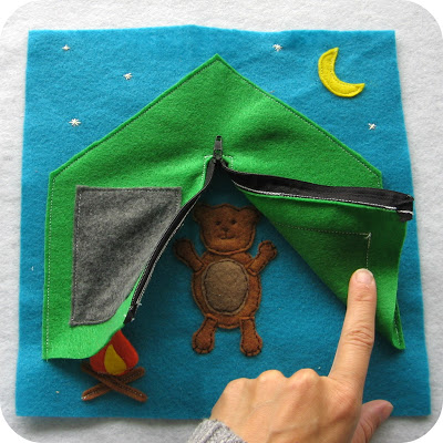 8 quiet book pages for little boys felting for The idea door quiet book