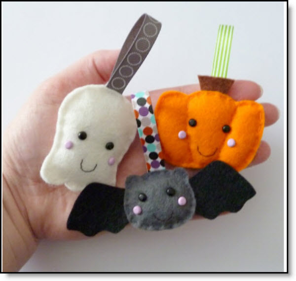 Halloween Felt cuties