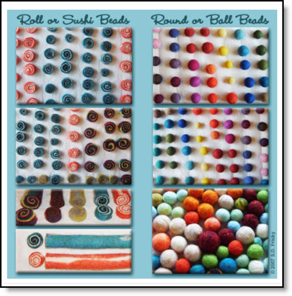 felt ball tutorials