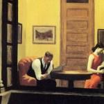 """""""Habitación en Nueva York"""" (1932). Edward Hopper"""