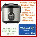 Rice Cooker and $50 Walmart Gift Card Giveaway!! (CLOSED)