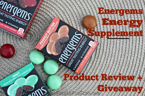 Energems Energy Supplement Review and Giveaway