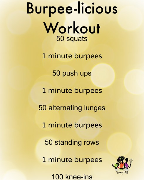 Burpee-licious Workout #burpees #workout #exercise