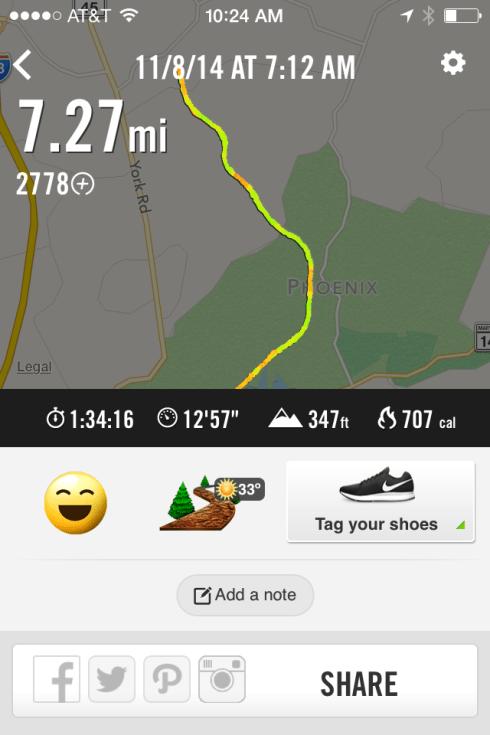 NCR Trail run