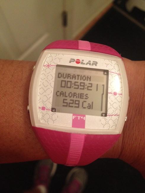Polar FT4 HRM Sanders Optimum Fitness Boot Camp