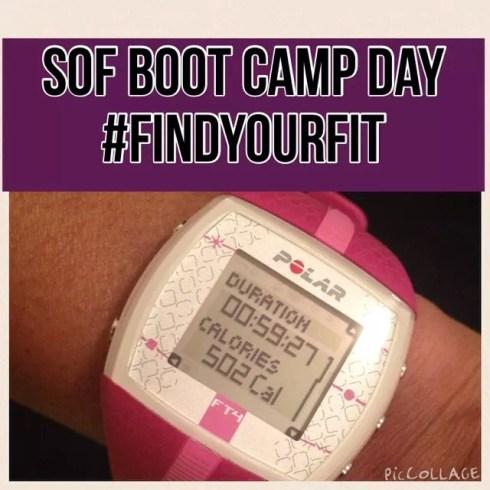 Sanders Optimum Fitness Boot Camp HR B