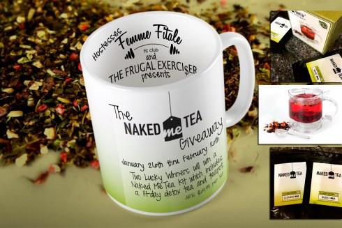 Naked Me Tea Giveaway #giveaway
