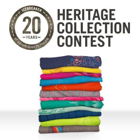 20th Anniversary Icebreaker Merino Heritage Collection Contest