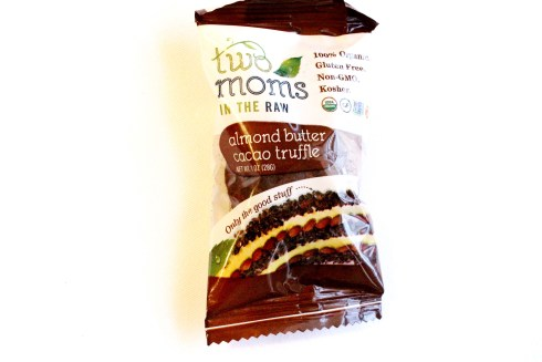 Almond Butter Cacao Truffle by Two Moms in the Raw