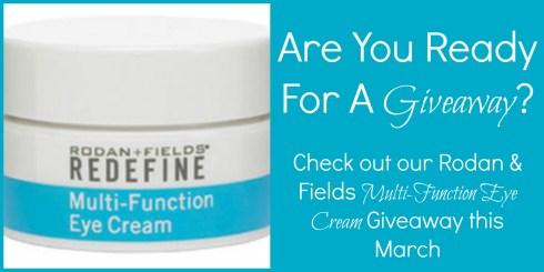 Rodan & Fields Redefine Multi-Function Eye Cream Giveaway Photo White