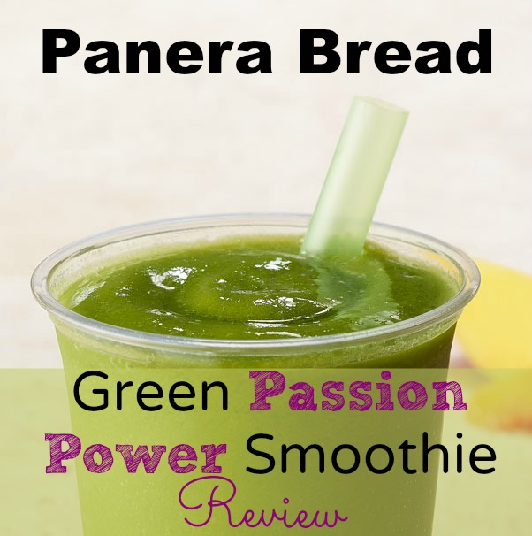 Meal Mondays:  Panera Bread Green Passion Power Smoothie Review