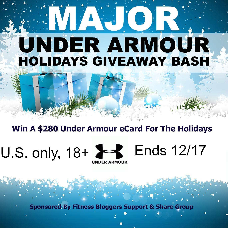Major Under Armour Holidays Giveaway Bash 280 eCard