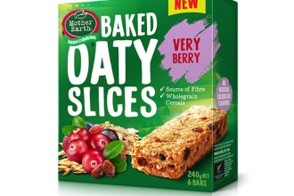 SN WHATS NEW MOTHER EARTH VERY BERRY BAKED OATY SLICE 0517 image